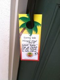 Commercial Property door tag